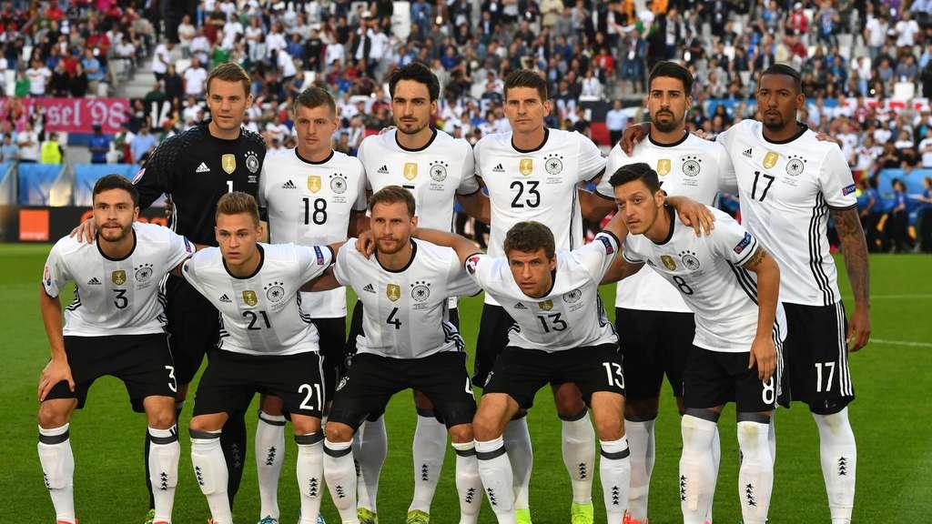 em 2016 die offizielle aufstellung von deutschland gegen frankreich heute fu ball em. Black Bedroom Furniture Sets. Home Design Ideas