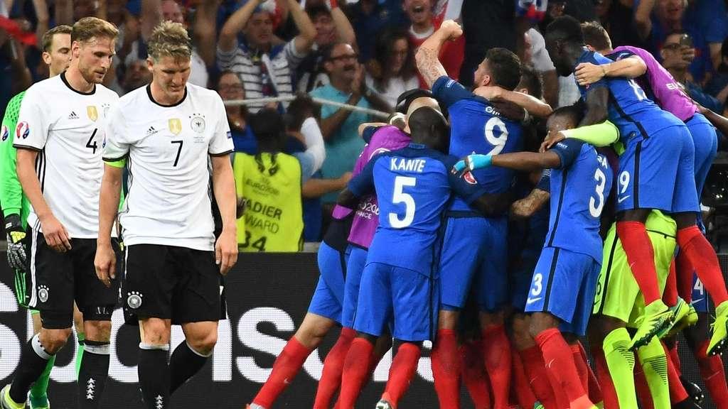 frankreich gegen deutschland em