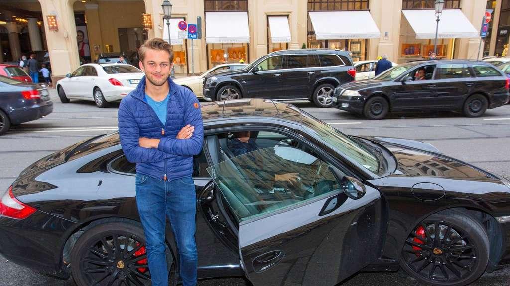 Die schnellsten autos brausen durch m nchen stadt for Die schnellsten autos