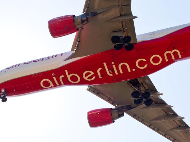 Bericht: Air Berlin plant tausende Stellenstreichungen