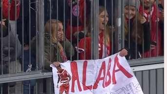 So machte David Alaba zwei Fans glücklich