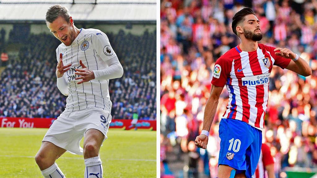 Atlético Madrid erreicht gegen Leicester Halbfinale