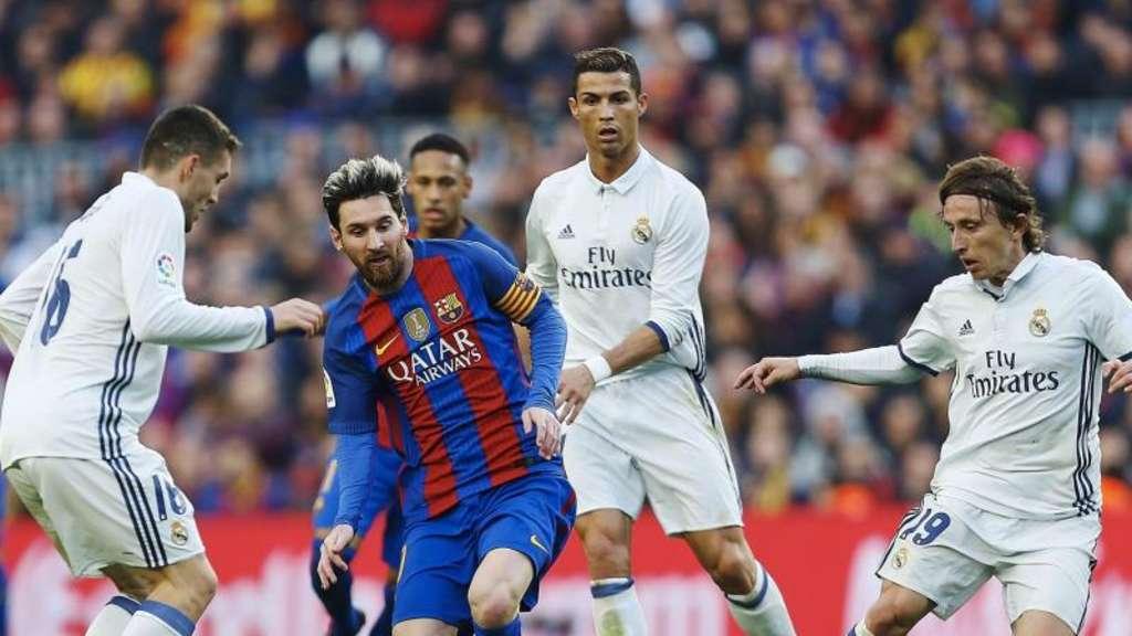 Barça verdrängt Real von der Spitze: 3:2 im Clásico