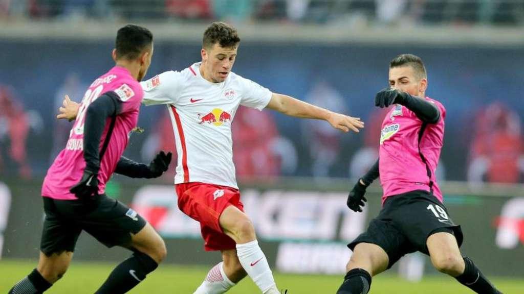 4:1-Sieg bei Hertha: Leipzig jubelt über Champions League