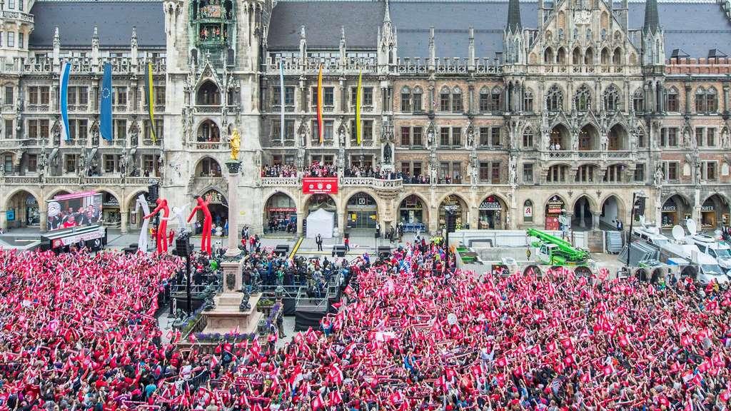 Münchner Händler fordern Verlegung der Meisterfeier des FC Bayern