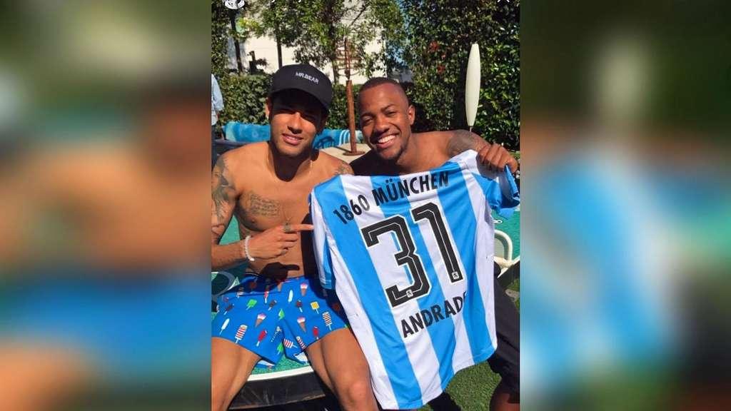 Barca-Superstar Neymar drückt den Löwen im Abstiegskampf die Daumen