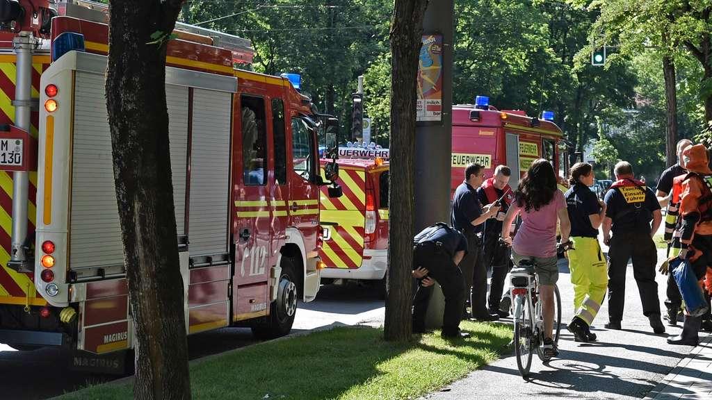 Mann stirbt in Münchner Eisbach