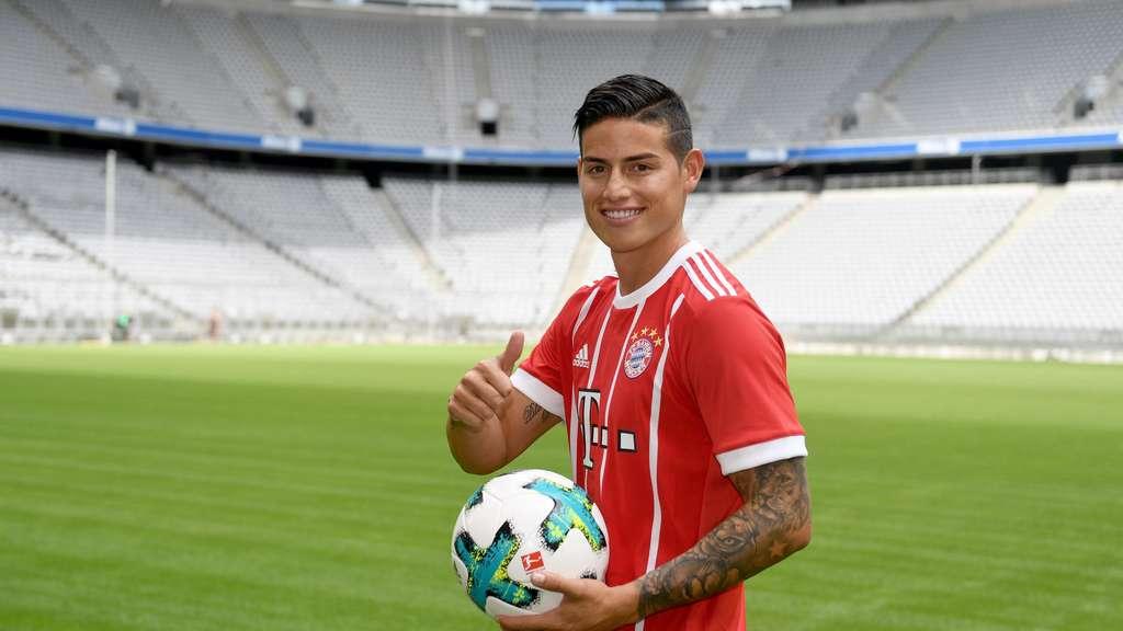 Bayern München Turniersieger - James Rodriguez gibt Debüt