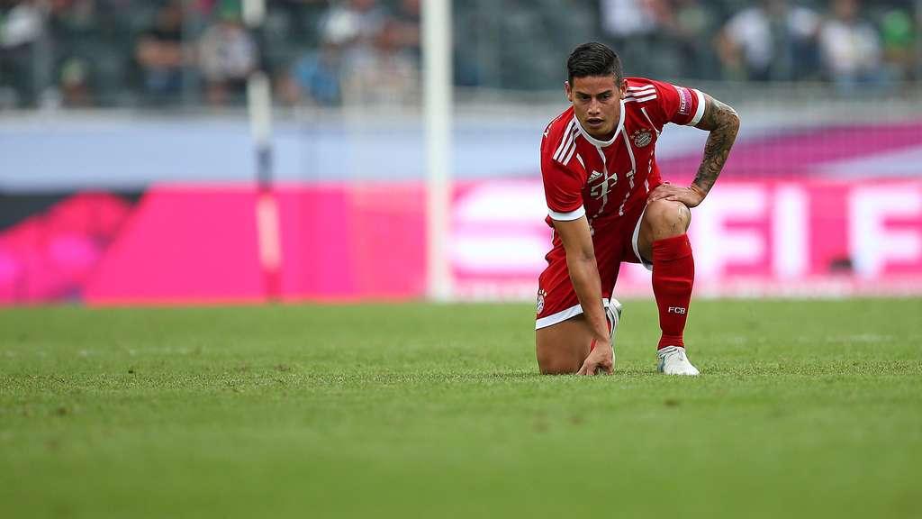 James Rodriguez: Erster Auftritt beim Telekom Cup 2017?