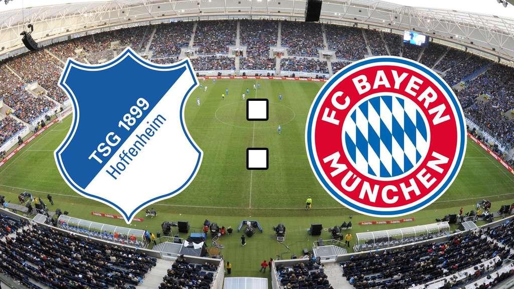 Bundesliga im Live-Ticker TSG 1899 Hoffenheim gegen FC Bayern München