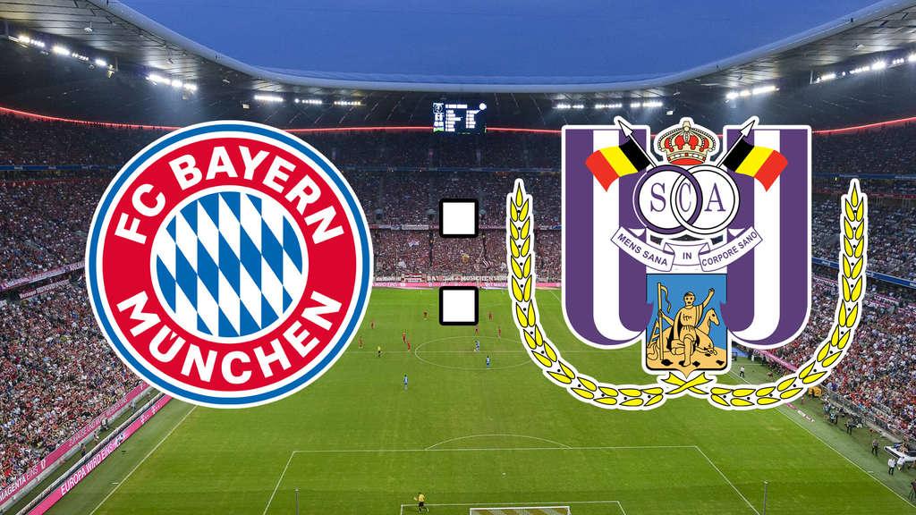 FC Bayern München gegen RSC Anderlecht Champions League im Live-Ticker