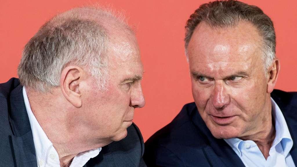 FC Bayern München: Uli Hoeneß reagiert auf Kritik von Robert Lewandowski