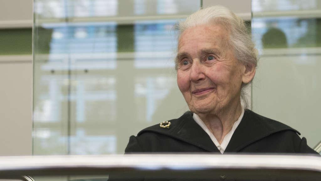 88-jährige Holocaust-Leugnerin Haverbeck zu sechs Monaten Haft verurteilt