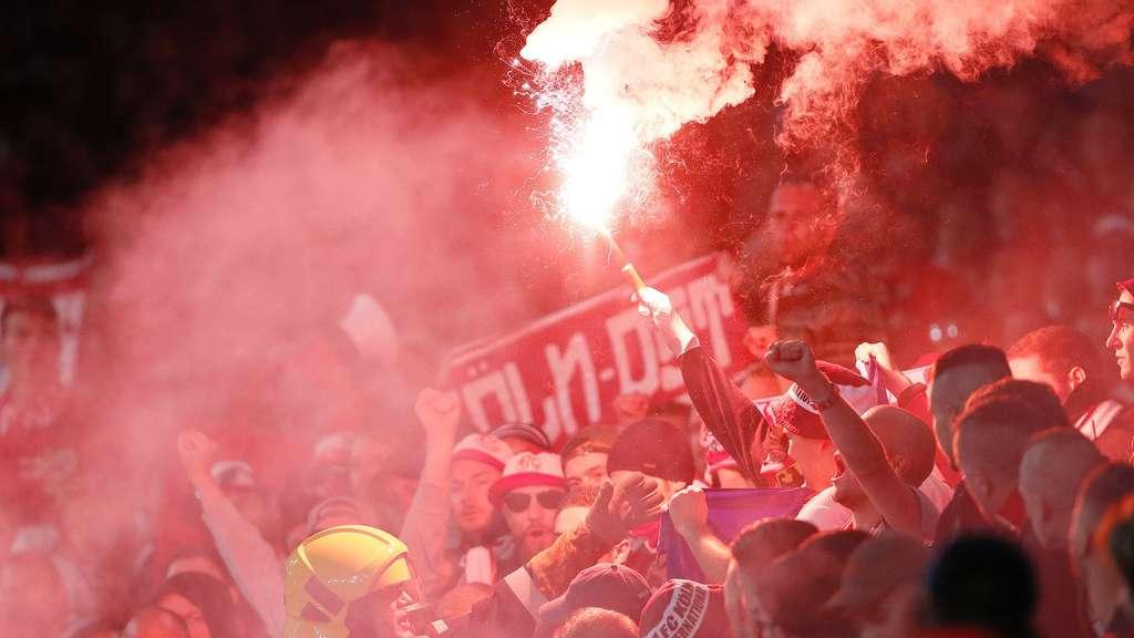 Nach London-Chaos Uefa verdonnert FC zu Fan-Sperre auf Bewährung