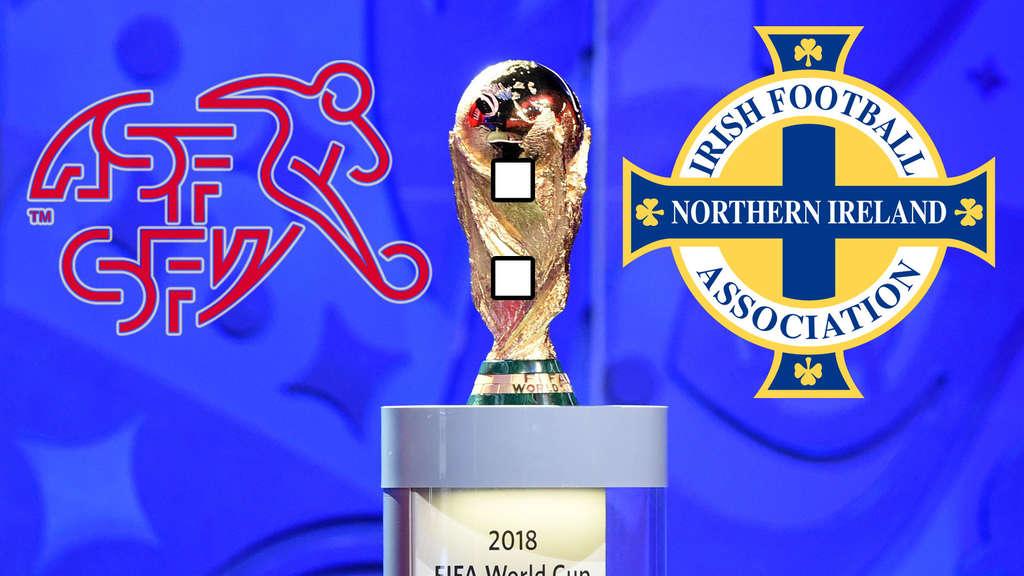 Fußball-WM 2018 Schweiz reicht 0:0 gegen Nordirland