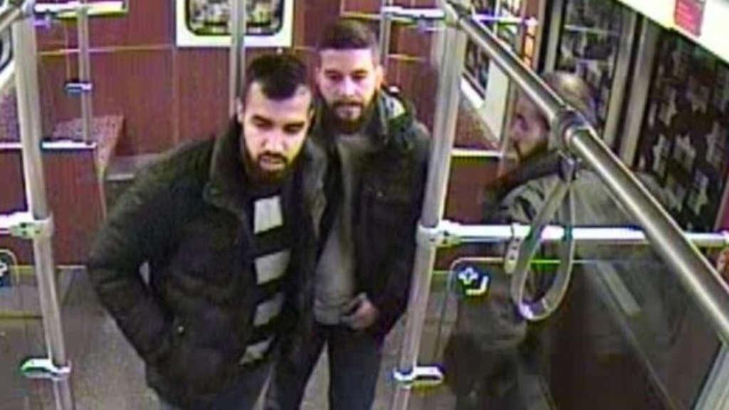 Gefährliches Trio verletzte zwei Personen: Wer kennt die Männer?