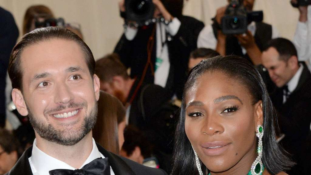 Tennistar Serena Williams hat in New Orleans Alexis Ohanian geheiratet