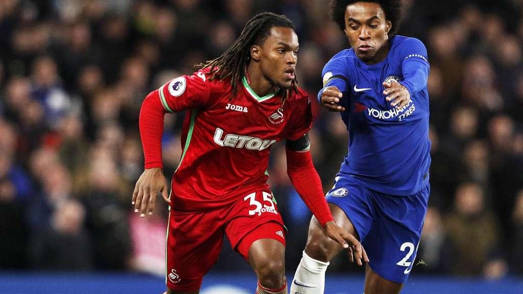 Glücklos bei Swansea City: FC-Bayern-Leihgabe Renato Sanches wird zur Lachnummer