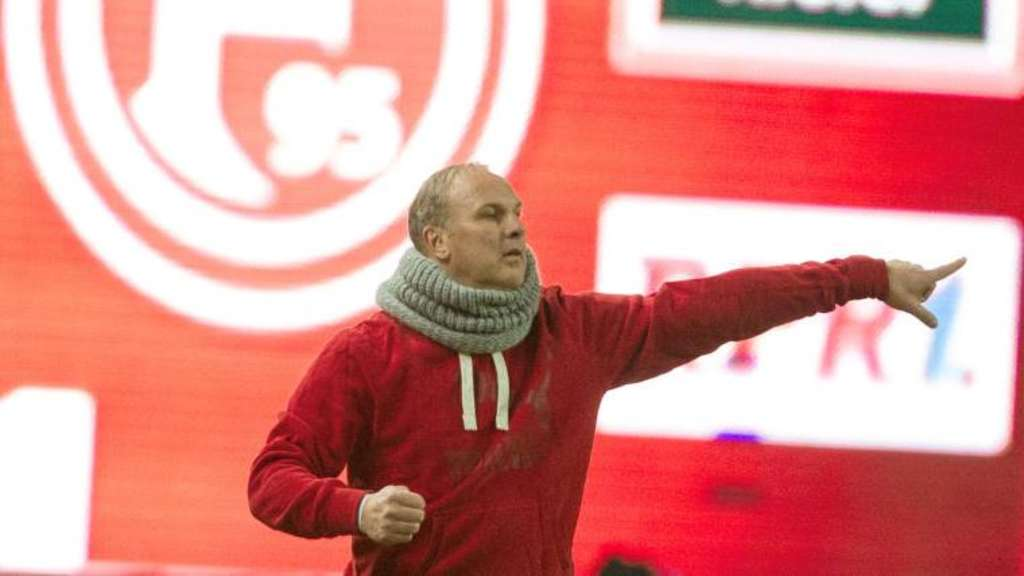 Trainer Oliver Reck erhält Droh-SMS
