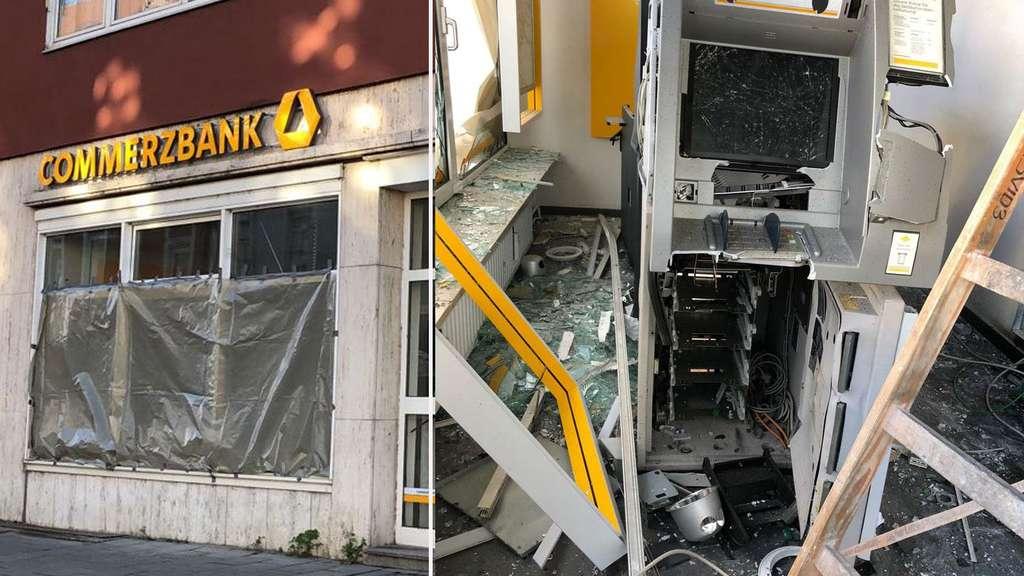Geldautomat in Schwabing gesprengt: 100.000 Euro Sachschaden