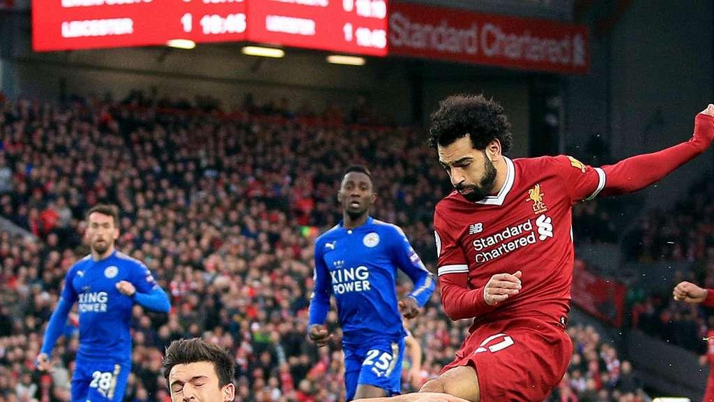 Weiter in Topform: Salah schiesst Liverpool zum Sieg