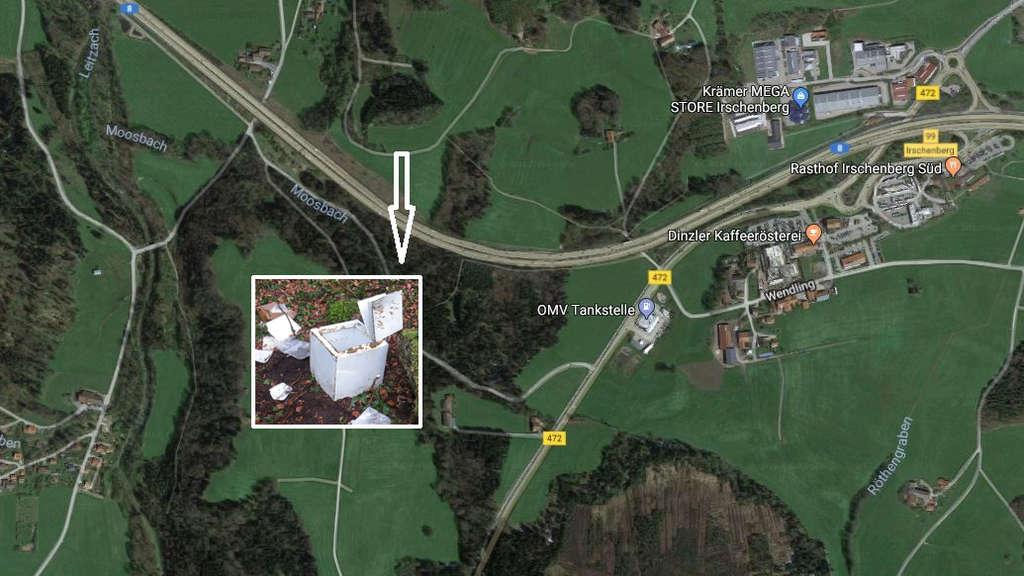Aufgebrochener Tresor von Olli Kahn an A8 gefunden