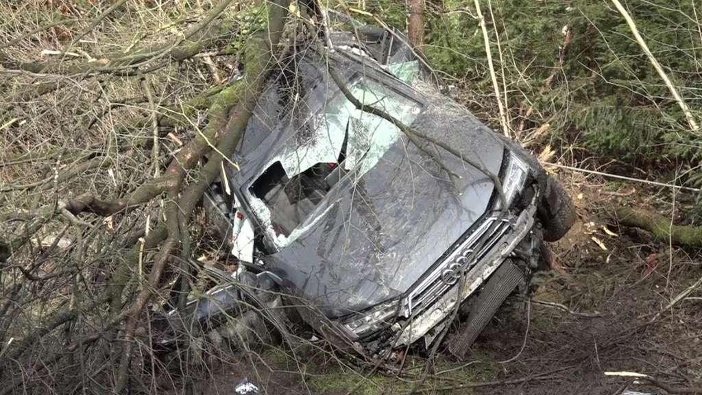 Schwerer Unfall zwischen Penzberg und Seeshaupt: A95 zeitweise gesperrt