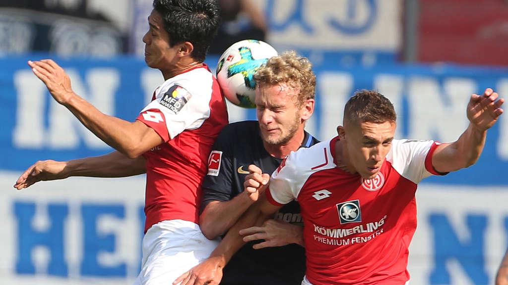 Mainz 05 siegt in Berlin Erster Auswärtssieg der Saison