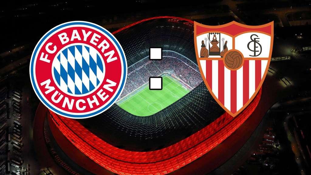 Der FC Bayern empfängt den FC Sevilla zum Rückspiel
