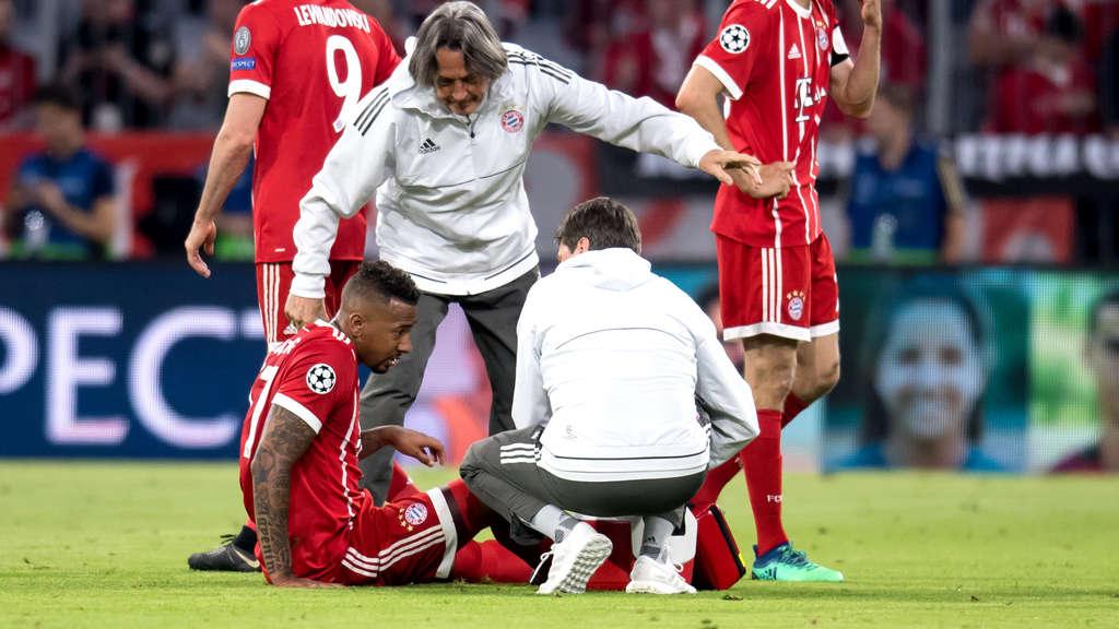 Bayern-Star Jerome Boateng muss um die WM-Teilnahme bangen