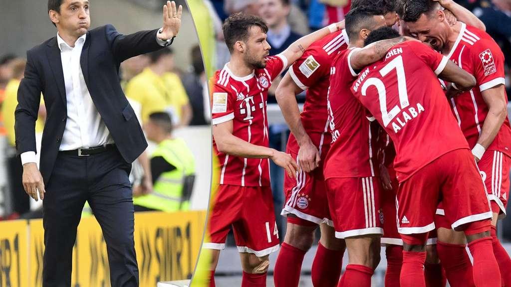 Bayern-Trainer Heynckes vor dem Abschied:
