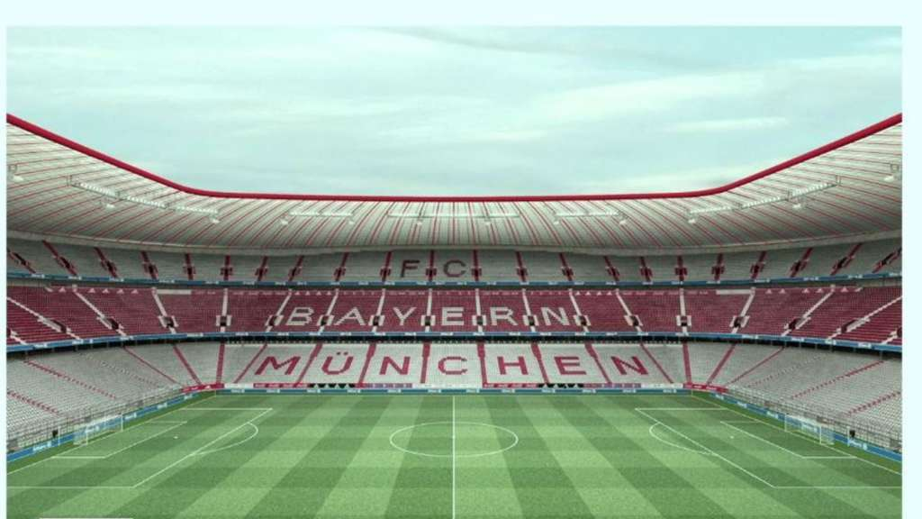 Allianz Arena nach Umbau