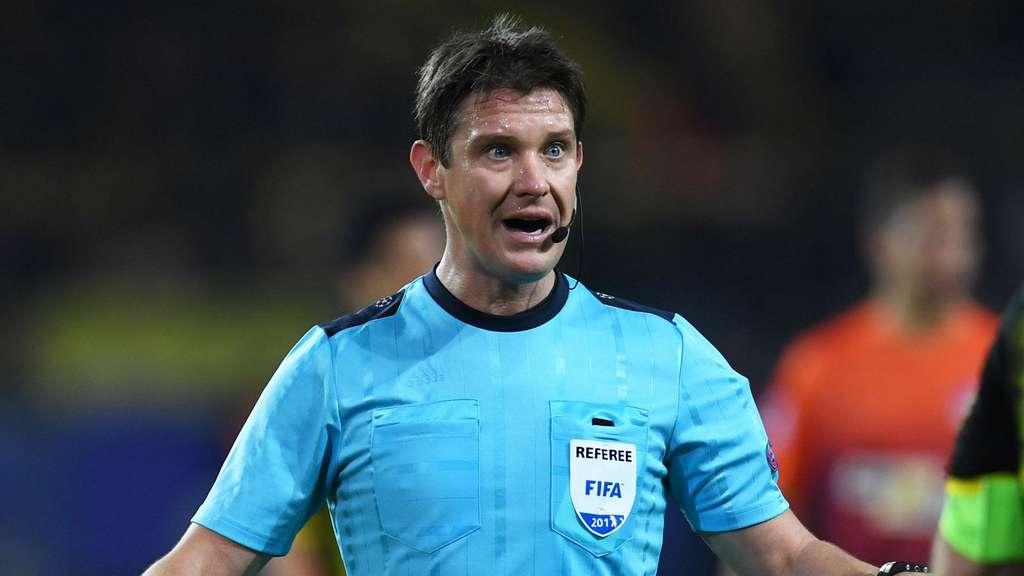 Matej Jug wird erstmals ein Spiel des FC Bayern pfeifen