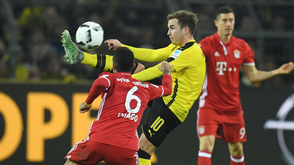 DFB-Pokal: Hertha gegen Bayern und Dortmund gegen Bremen