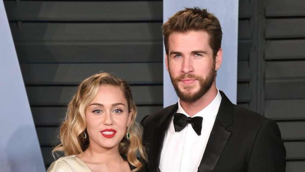 Waldbrände in Kalifornien - Miley Cyrus schwärmt von Liam Hemsworth