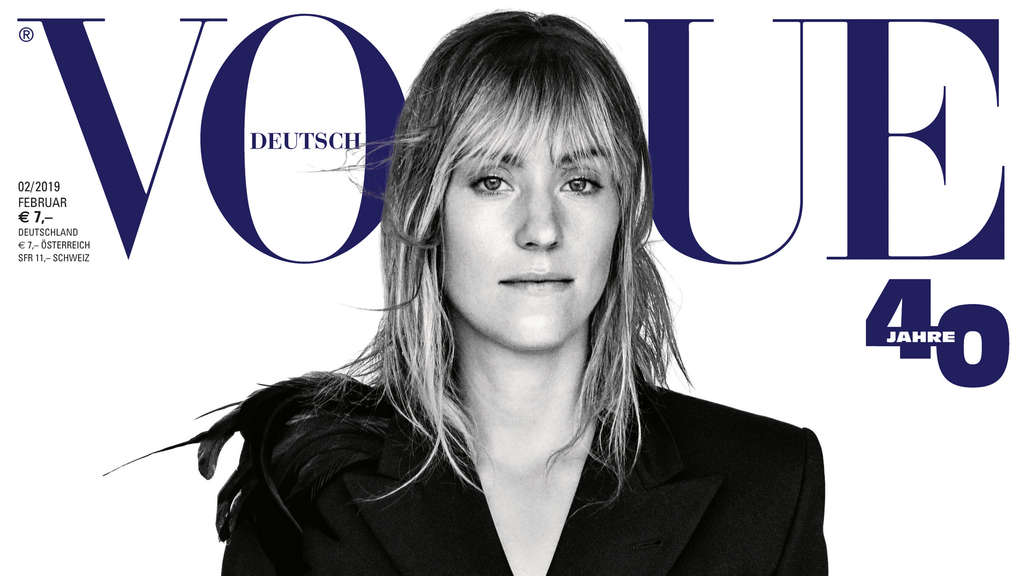 Bastian Schweinsteiger mit Ana Ivanovic auf Cover der Vogue