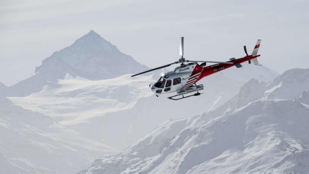 Lawine in der Schweiz: Vier Deutsche sterben im Kanton Wallis bei Lawinenunglück