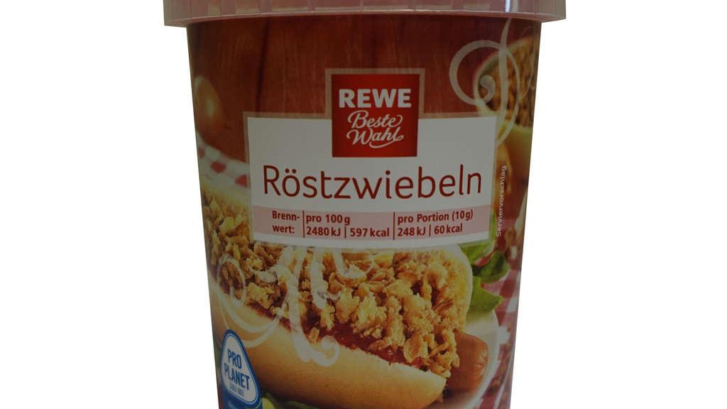 Hersteller ruft Röstzwiebeln bei Rewe zurück: Metallstücke