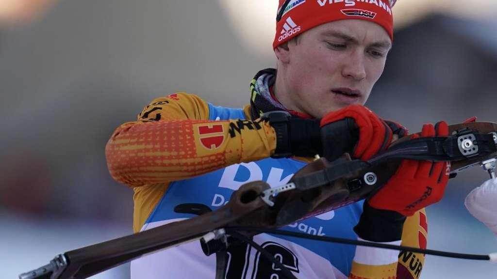 Biathlon: FranziskPreuß fehlt beim Heim-Weltcup in Oberhof