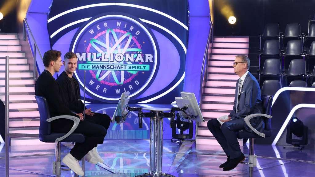Ex-Schalker Leon Goretzka mit Joshua Kimmich als Kandidaten bei Wer wird Millionär mit Günther Jauch auf RTL