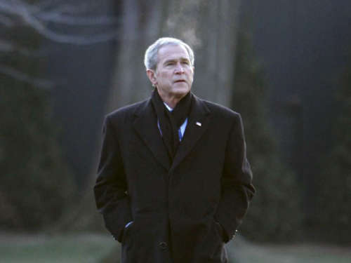 Satiriker sagen George W. Bush Goodbye