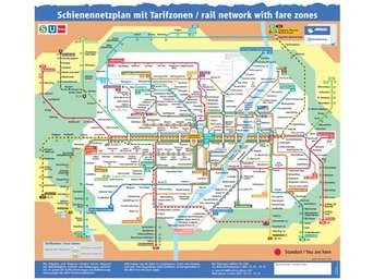Plan zonen u-bahn münchen Mit MVV