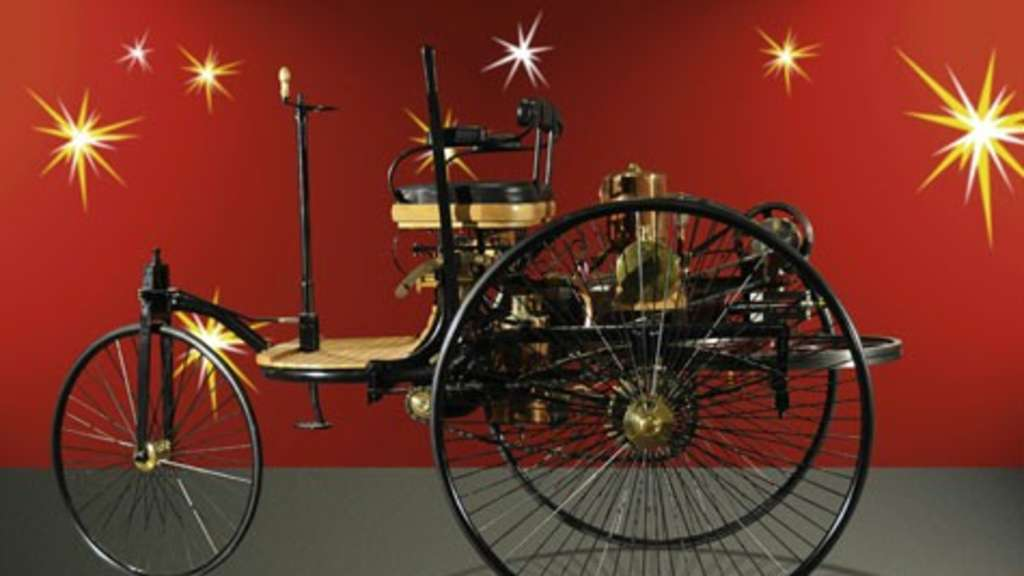 Der Benz-Patent-Motorwagen   Welt