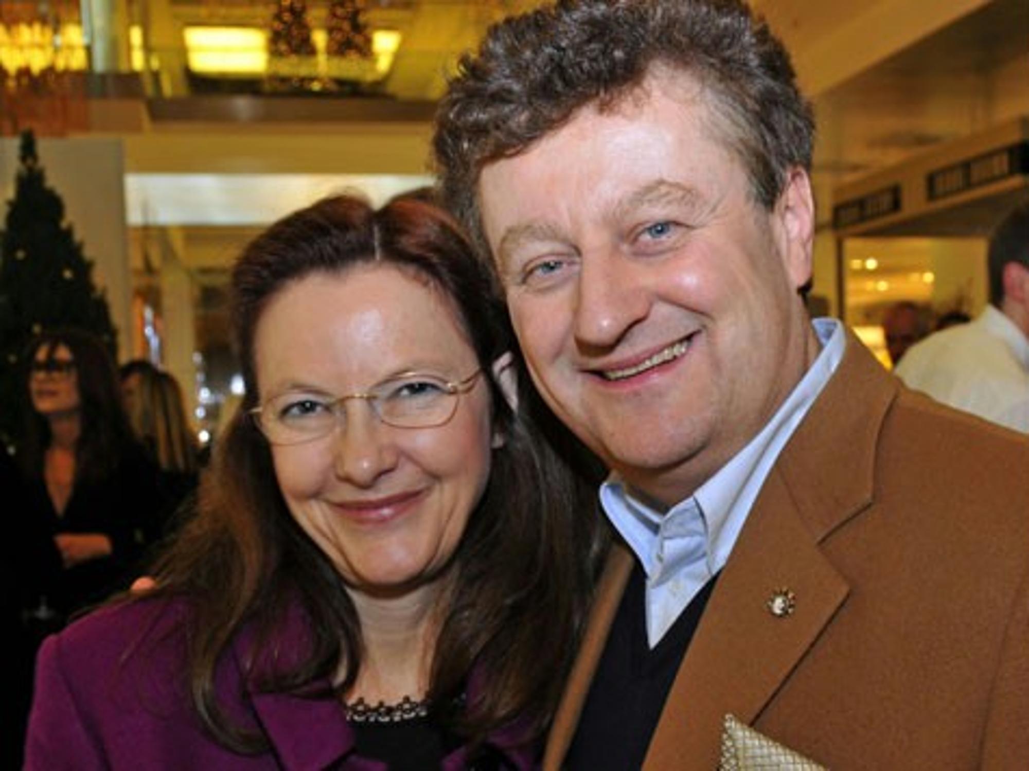 Wolfgang Heckl Ehefrau