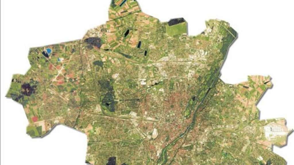 Satellitenbild München