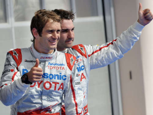 Toyota-Duo vorn: Trulli holt Pole