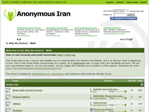The Pirate Bay untersützt iranische Opposition