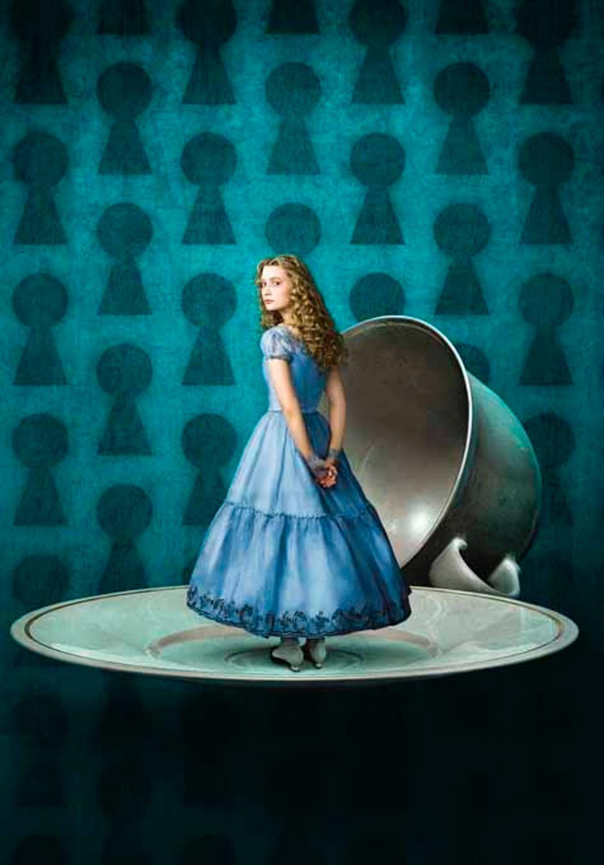 Johnny Depp Spielt Im Film Alice Im Wunderland Als Verrückter