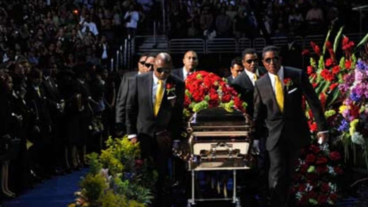 Trauerfeier Michael Jackson