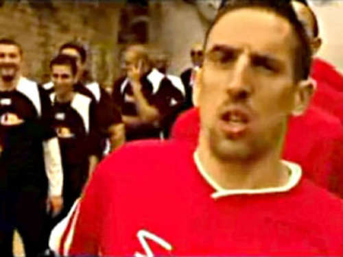 Video des Tages: Franck Ribéry - ein etwas anderes Training